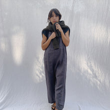 Load image into Gallery viewer, Kleen | Linen Jumpsuit in Charcoal