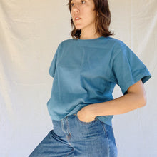 Load image into Gallery viewer, Pacific Cotton | Crop Crew in Atlas Blue