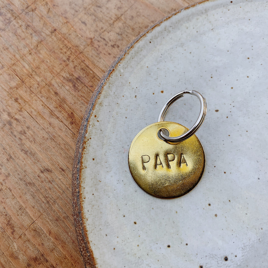 Chaparral | Medium Papa Keychain