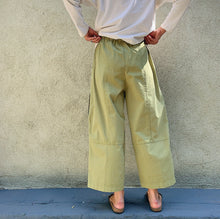 Load image into Gallery viewer, eleven stitch four pocket pant on model back view
