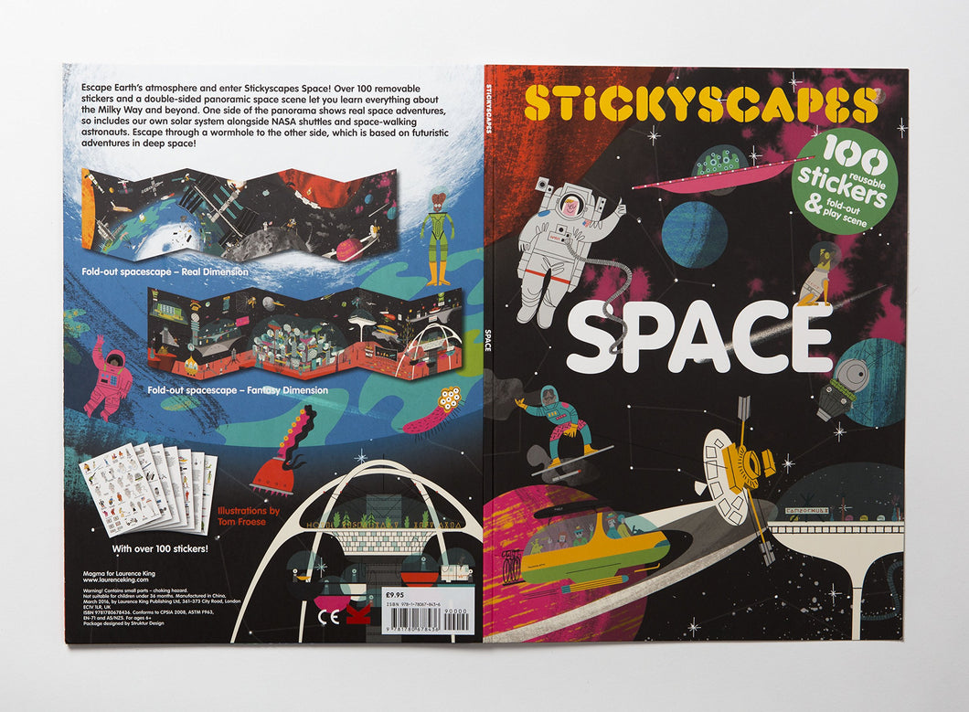 Stickyscapes | Space