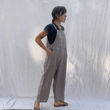 Load image into Gallery viewer, Kleen | Linen Jumpsuit in Jute