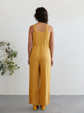 Sugar Candy Mountain | Orchid Jumpsuit in Mustard
