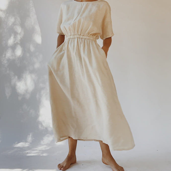 Filosofia | Chloe Dress in Cream