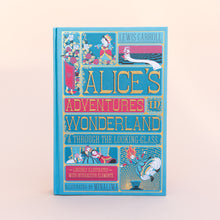 "front cover of ""Alice's Adventures in Wonderland"""