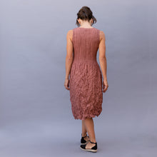back view blush smash dress by alquema