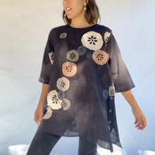 Mona Lisa | Lotus Tunic in Black