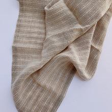 Linen Towel Set of Two | Natural Stripe