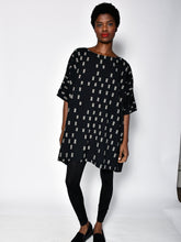 Load image into Gallery viewer, Uzi | Black Disko Squares Dress