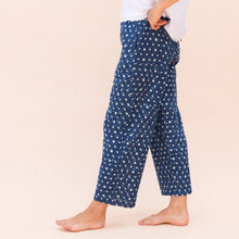 side view polka dot pant by bunai