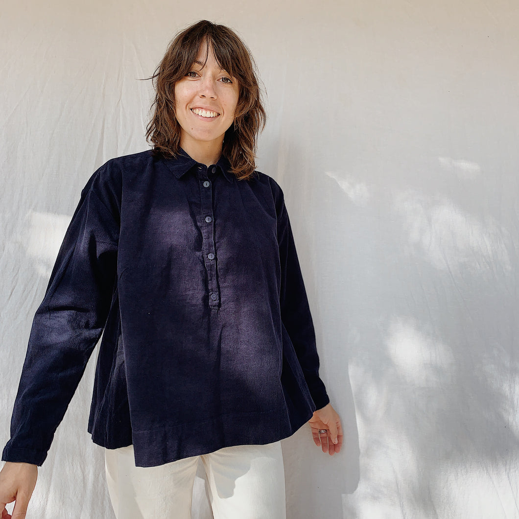 Two Danes | Caroline Swing Tunic in Dark Navy