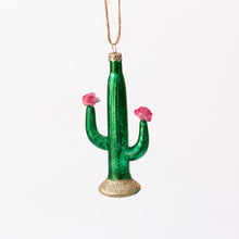 green cactus ornament
