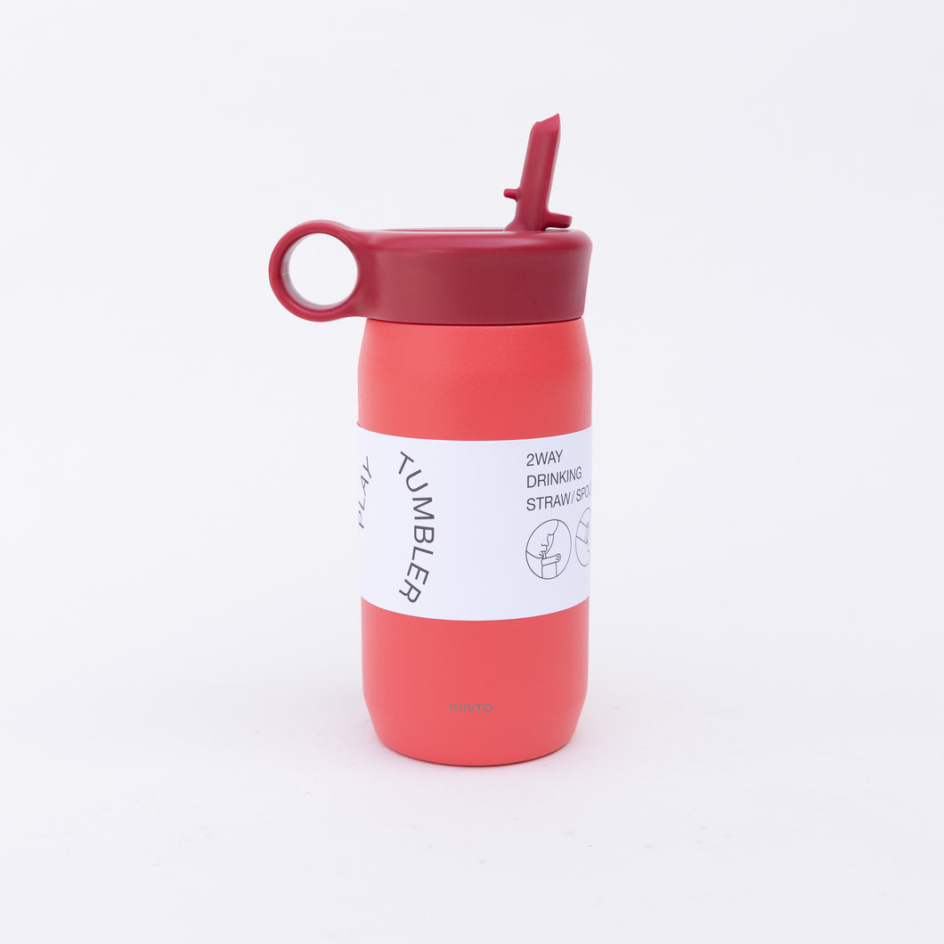 red child tumbler with straw