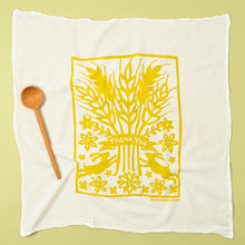 Load image into Gallery viewer, Golden Thank You Flour Sack Dishtowel