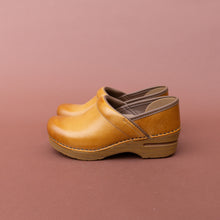 side view dansko honey professional clog