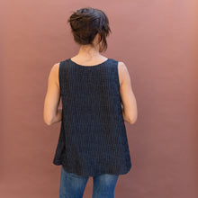 back view silk tank from dressori