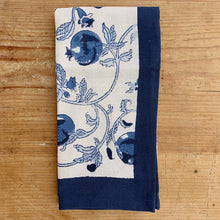 Blue Fruit Tea Towel