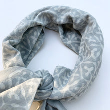 Load image into Gallery viewer, Bandana | Stellar Grey White