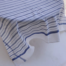 Load image into Gallery viewer, Tablecloth | Blue Stripe