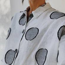 Load image into Gallery viewer, Chalet | Nadja White Polka Dot Jacket