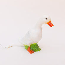duck lamp side view