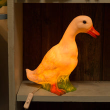glowing duck lamp