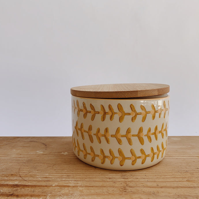 Stoneware Canister