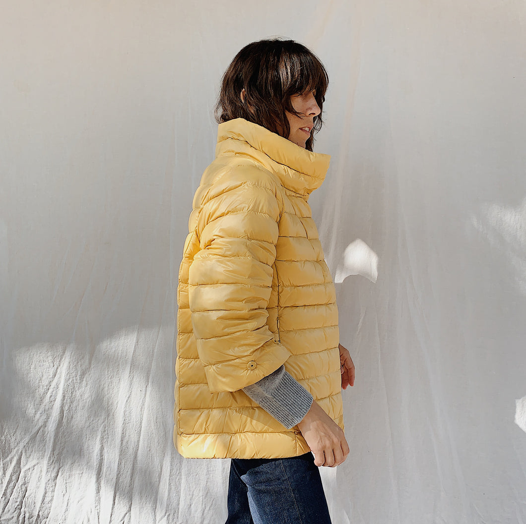 Anorak | Yellow Puffer Jacket