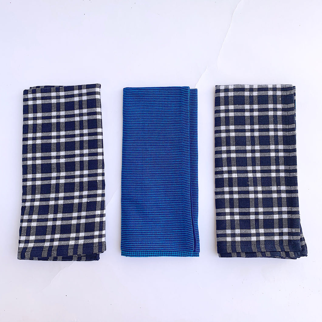 Dishtowel Set | Navy