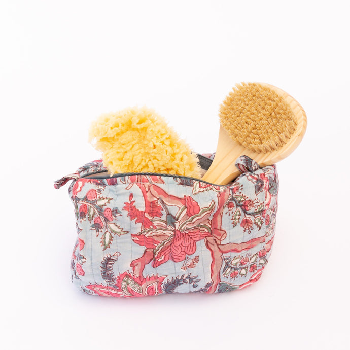 stuffed medium toiletry bag