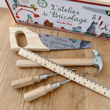 Load image into Gallery viewer, Moulin Roty | Les Valises Small Wooden Tool Set