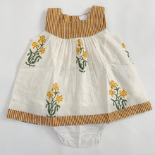 Load image into Gallery viewer, Daffodil Floral Shift Dress & Diaper Cover