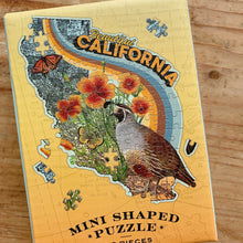 Load image into Gallery viewer, Mini California Shaped 100 Piece Puzzle