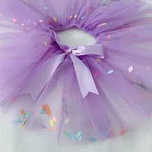 Load image into Gallery viewer, Purple Confetti Tutu
