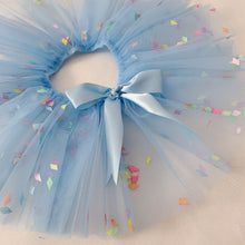 Load image into Gallery viewer, Pale Blue Confetti Tutu