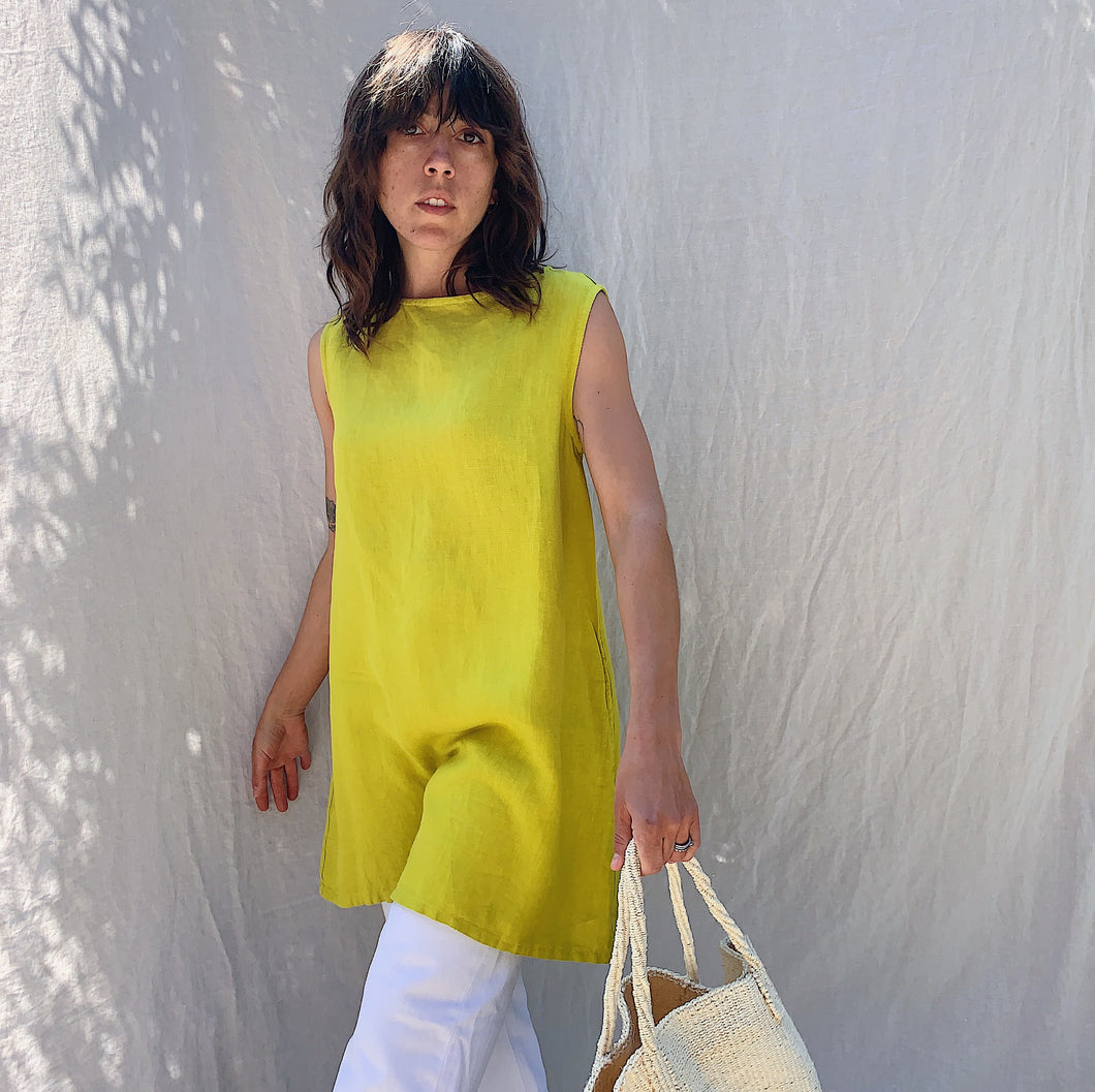 Bryn Walker | Twiggy Tunic in Limonaia