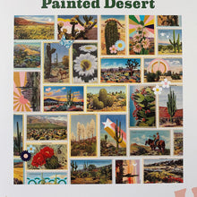 Load image into Gallery viewer, Close up view of Galison's vintage inspired desert landscapes puzzle.