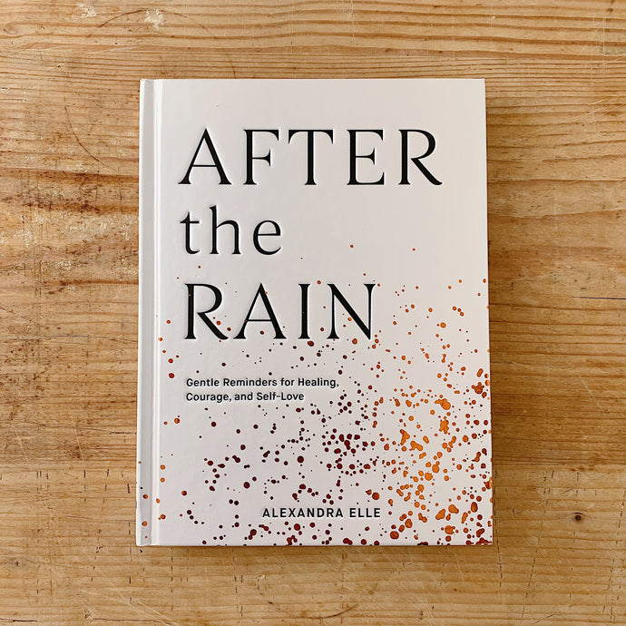 Front cover of Alex Elle's book 'After The Rain'