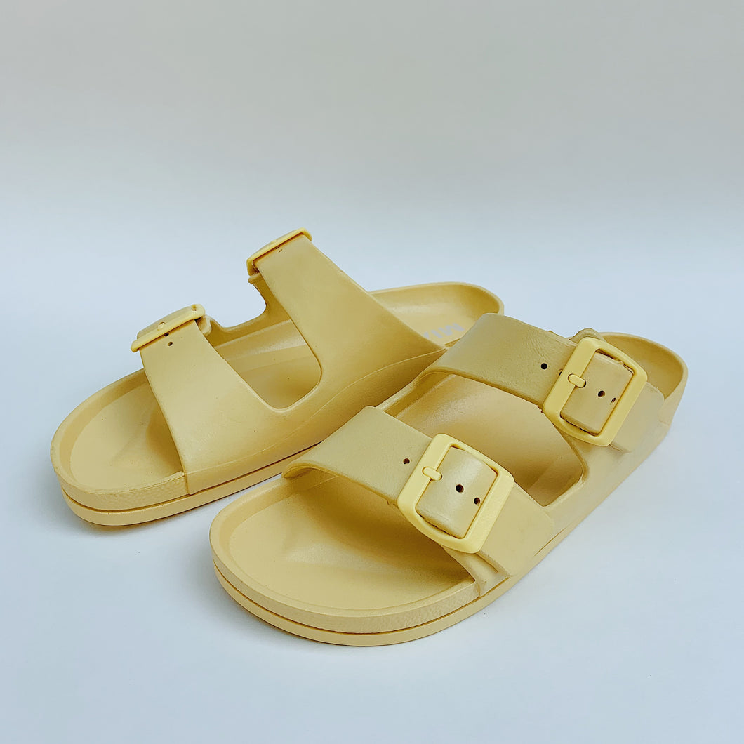 MIA | Two Strap Sandal in Light Yellow