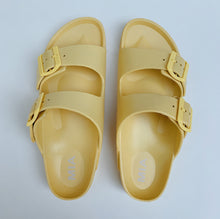 Load image into Gallery viewer, MIA | Two Strap Sandal in Light Yellow