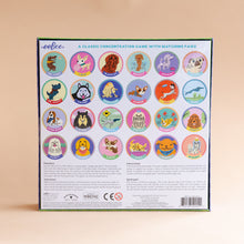 back view of good dog card game