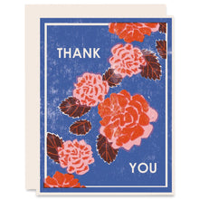 Load image into Gallery viewer, Peony Thank You Card