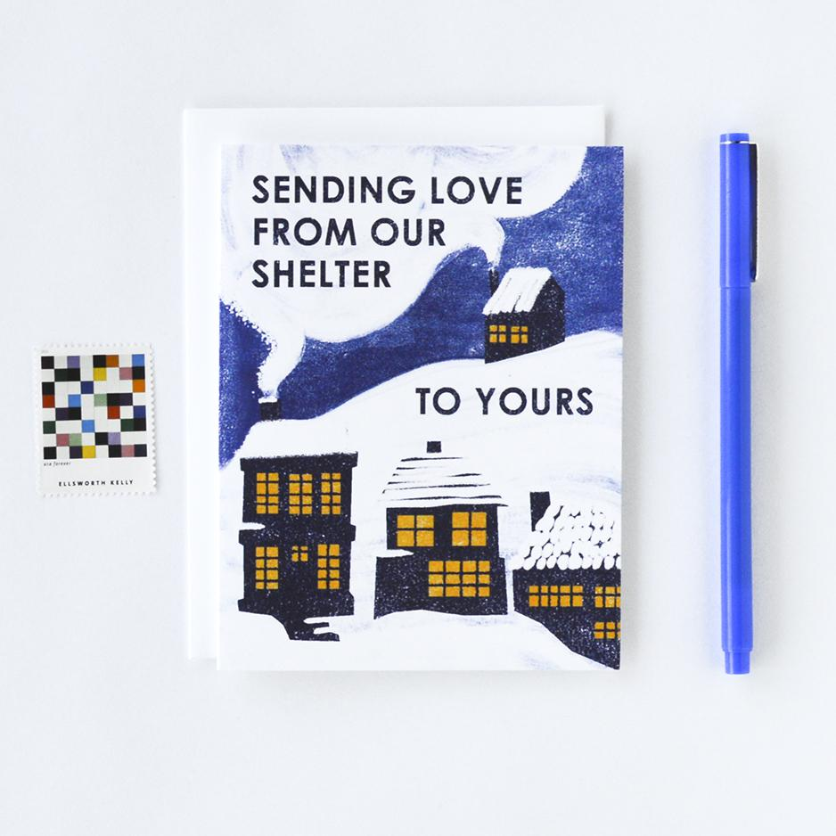 From Our Shelter to Yours Card
