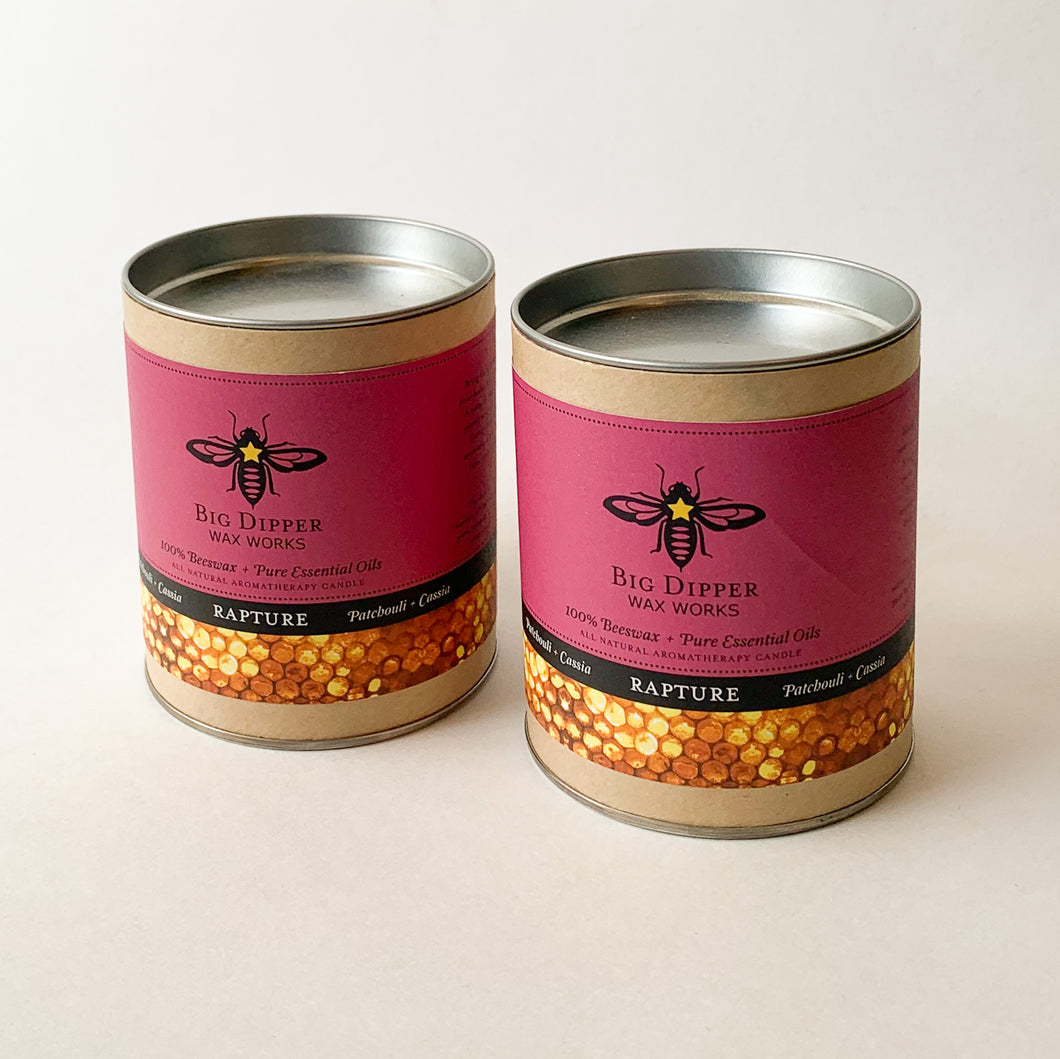 big dipper rapture candles duo front view