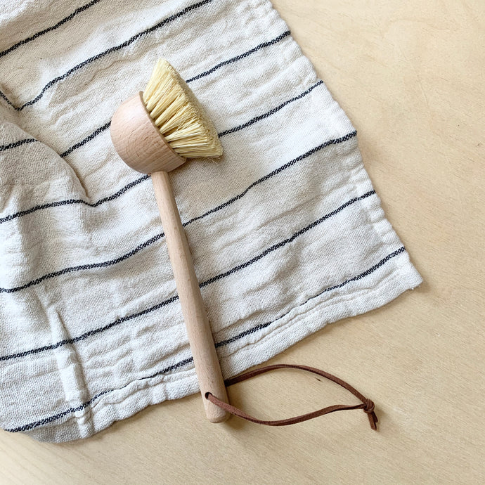 Wooden Handled Dish Brush