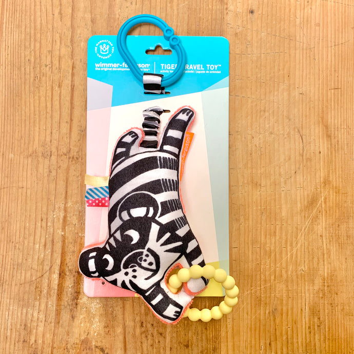 Manhattan Toy | Wimmer Ferguson Tiger Travel Toy