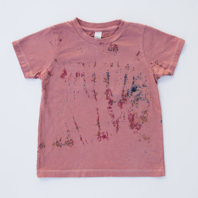 Good Moon | Kid's Tee in Wisteria