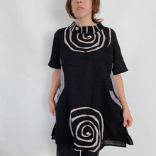 Load image into Gallery viewer, Mona Lisa | Spiral Tunic