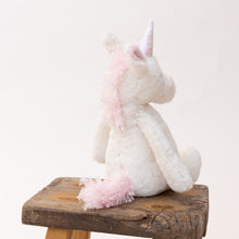 Load image into Gallery viewer, back view bashful unicorn by jellycat