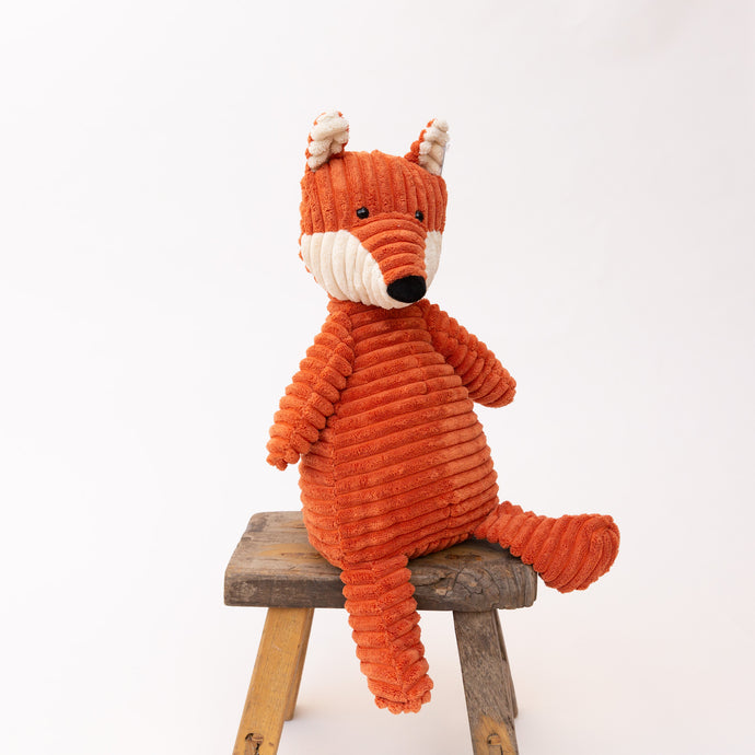 front view cordy roy fox by jellycat
